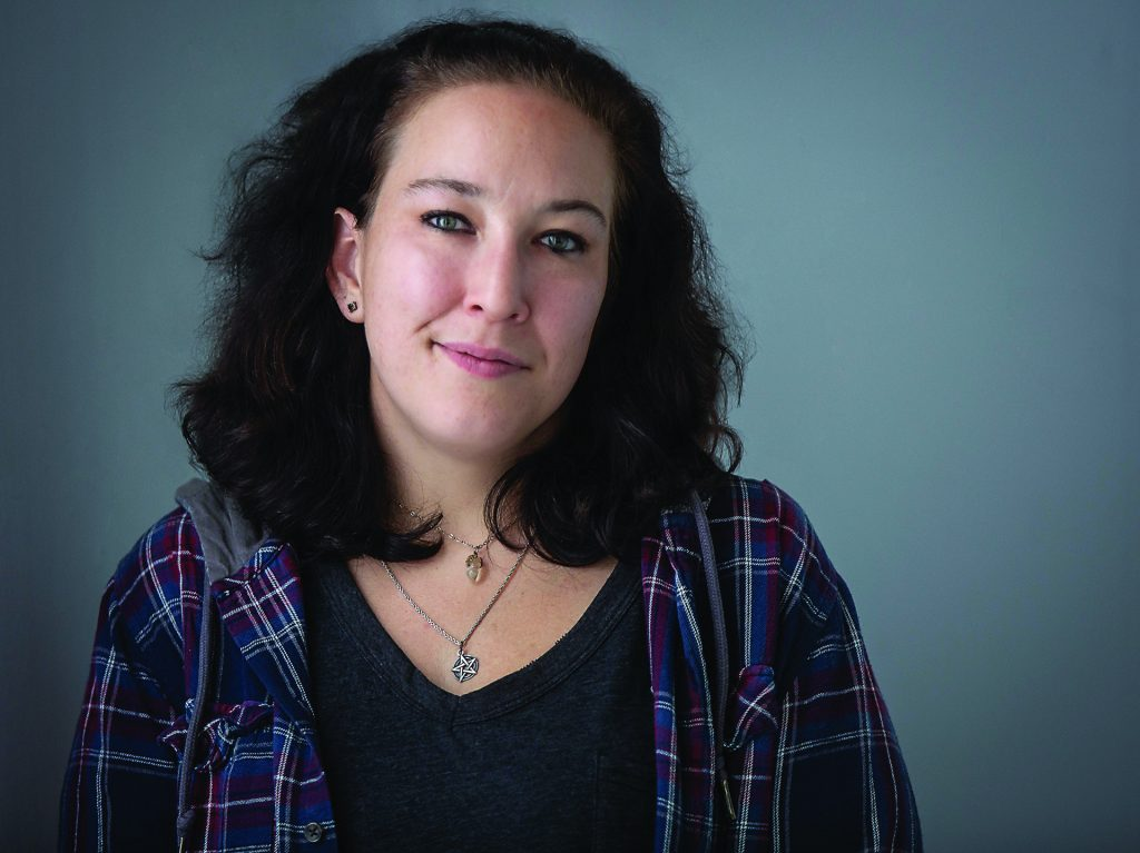 Miranda Drake, a formerly homeless woman.