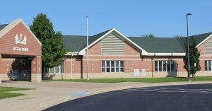 The front of Kalamazoo Christian Elementary School.