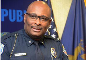 A portrait of new KDPS Chief Vernon Coakley