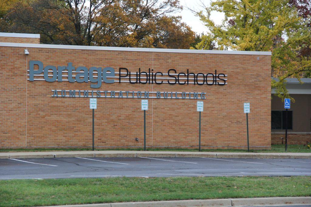 the portage public schools administration building
