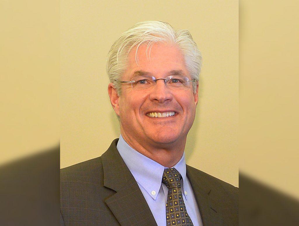 A portrait of State Senator Mike Shirkey