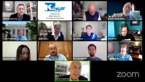 Kalamazoo City Commissioners hold an official meeting on Zoom